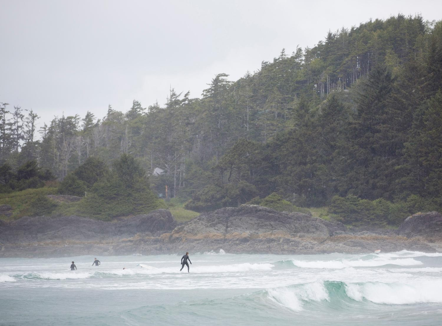 Surfers in Canada are serious - serious enough to don wetsuits and brave the chilly coastal waters to catch some waves. With miles of beach line and several different locations - Tofino, BC, is Canada's surf capital. (Sy Bean / Seattle Refined)