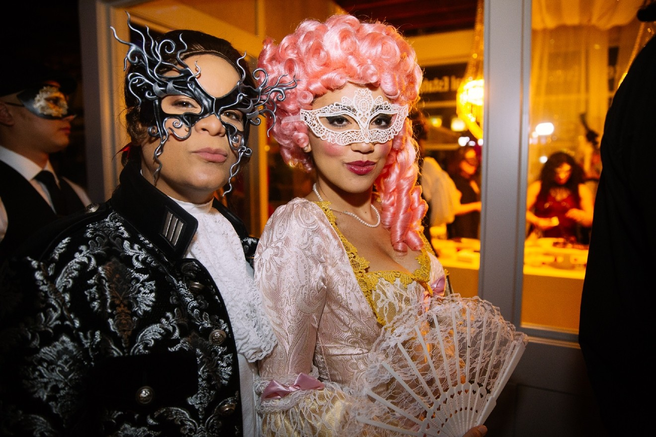 Venice is Sinking A Venetian Masquerade Ball took place last night in SoDo where they  sc 1 st  Seattle Refined & Seattle goes all out for the Venetian Masquerade Ball | Seattle Refined