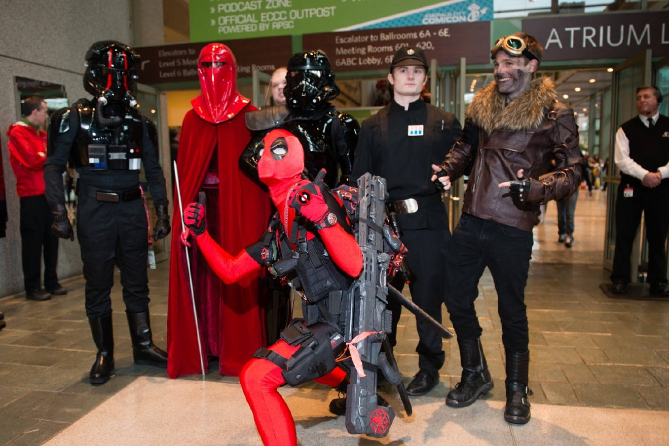 Emerald City Comicon is the largest comic book and pop culture convention in the Pacific Northwest. Thousands come to the Washington State Convention Center in Seattle for 4 days of cosplay, comic books, celebrities, panels and more. Today (March 2, 2017), is only the first day of what is sure to be a spectacular weekend! (Image: Chona Kasinger / Seattle Refined)